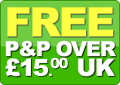 Free delivery on orders over 100 pounds