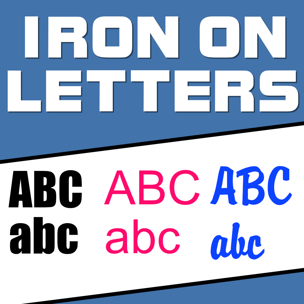 Order Iron on Letters and Words Fast