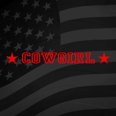 Cowgirl Iron on Transfer