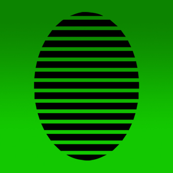 Easter Egg - Stripe Iron on Transfer
