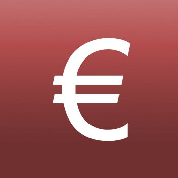 Picture of Symbol Iron on Transfer Euro Sign
