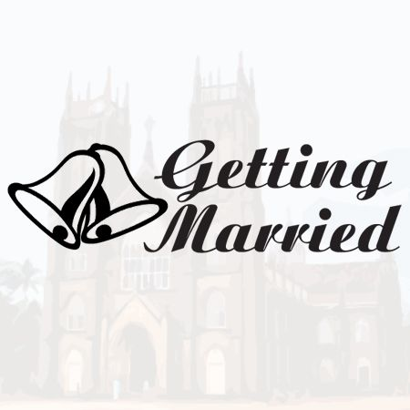Getting Married Iron on Transfer
