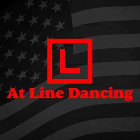 Learner at Line Dancing Iron on Transfer