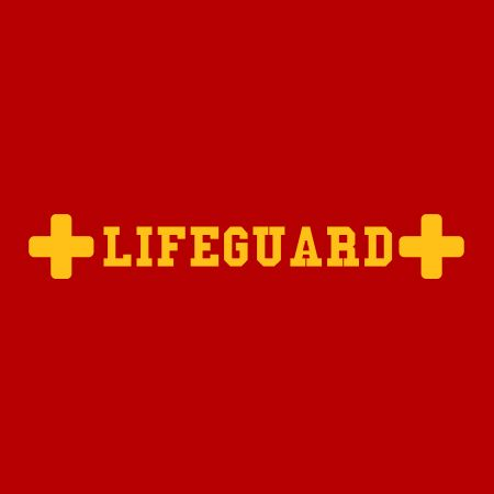 Picture of Lifeguard Medic Sign Iron on Transfer