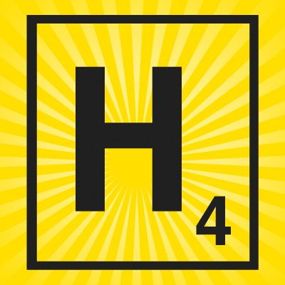 Picture of Iron on Scrabble Letter H