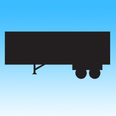 Truck Trailor Iron on Transfer