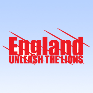 Unleash the Lions England Scratches Iron on Transfer