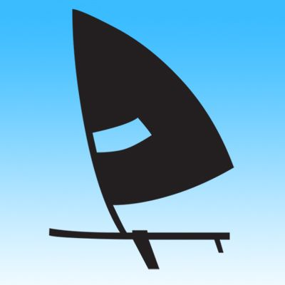 Picture of Wind Surfing Iron on Transfer