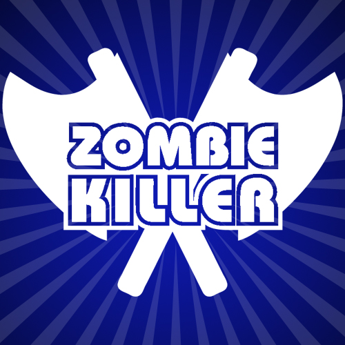 Zombie Killer halloween iron on transfer