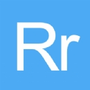 Iron on Letter R