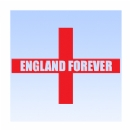 England Forever in St George Cross Iron on Transfer