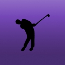 Golfer 2 Iron on Transfer