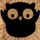 Happy Owl Iron on Transfer