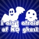 I aint afraid of no ghosts halloween iron on transfer