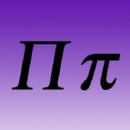 Greek Letter Iron on Transfer Pi