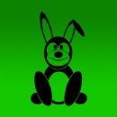 Easter Bunny 1 Iron on Transfer