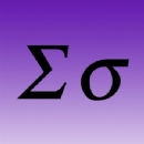 Greek Letter Iron on Transfer Sigma