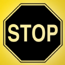 STOP Sign Iron on Transfer