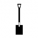 Gardeners Spade Iron on Transfer
