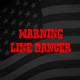 Warning Line Dancer Iron on Transfer