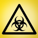 Bio hazard Sign Iron on Transfer