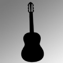 Classical Guitar Iron on Transfer