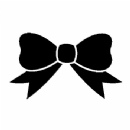 Bow Ribbon Design Iron on Transfer