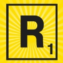 Iron on Scrabble Letter R